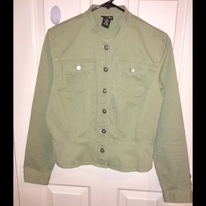 Button Up Jacket •Sage Green•